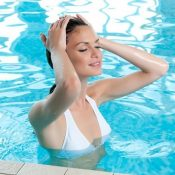 Health care tips to protect hair from a chlorinated pool